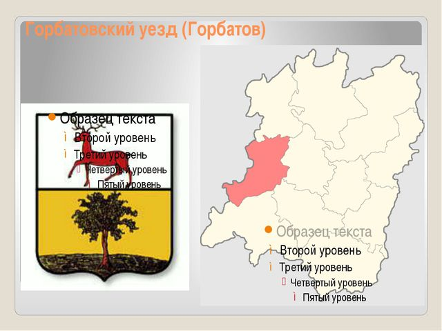 Горбатовский уезд (Горбатов)
