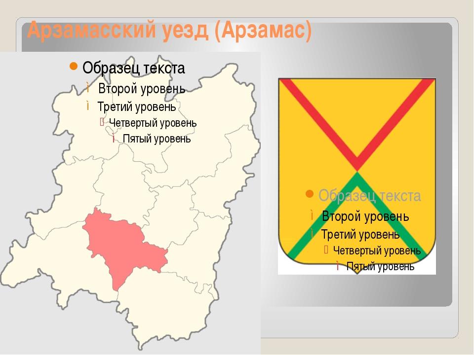 Арзамасский уезд (Арзамас)