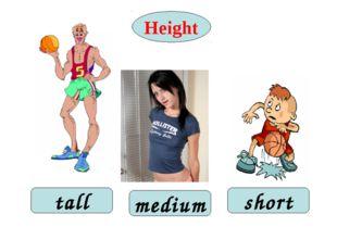 Height tall short medium