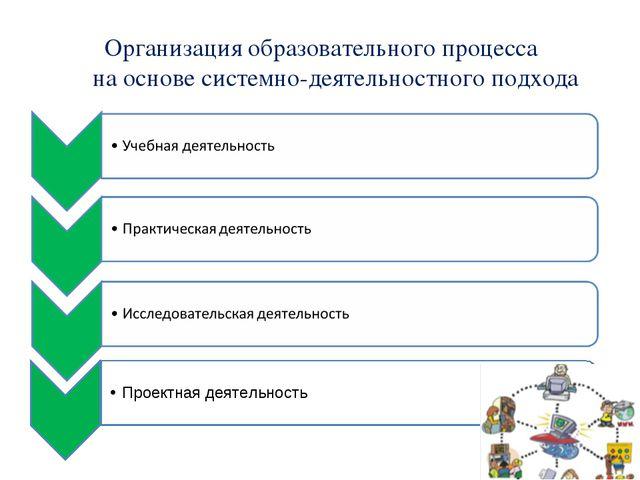 Организация образовательного процесса на основе системно-деятельностного подх...