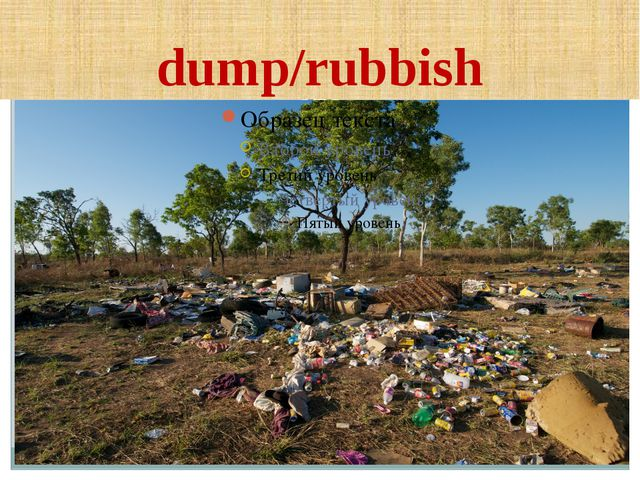 dump/rubbish