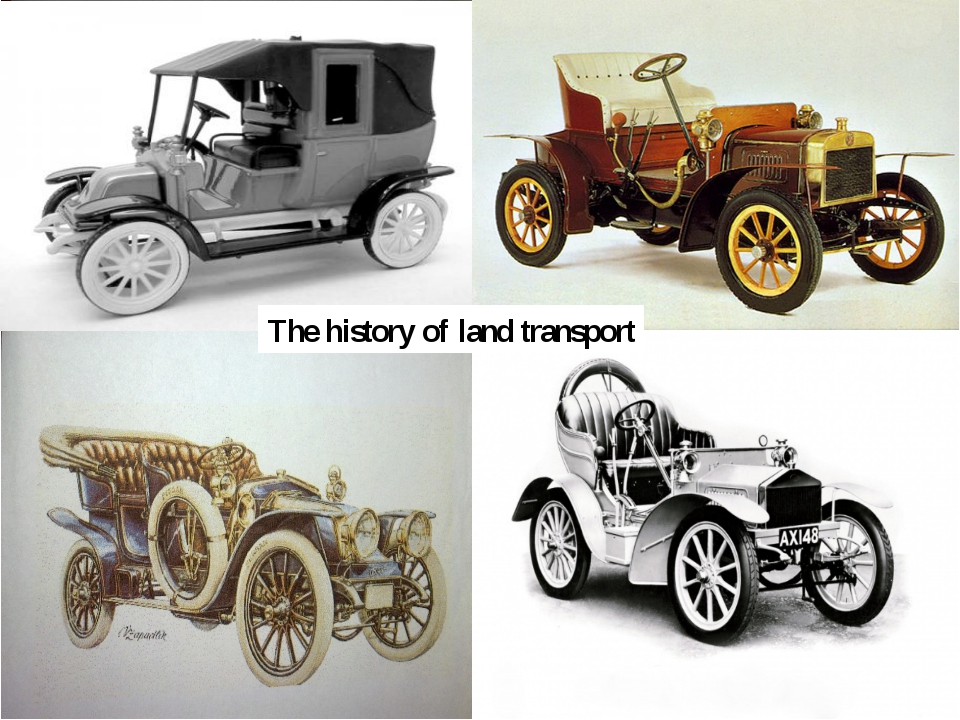 The history of land transport