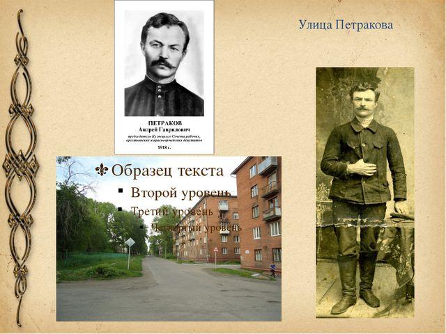 Улица Петракова
