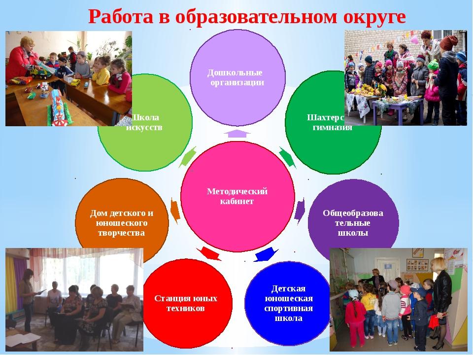 Работа в образовательном округе