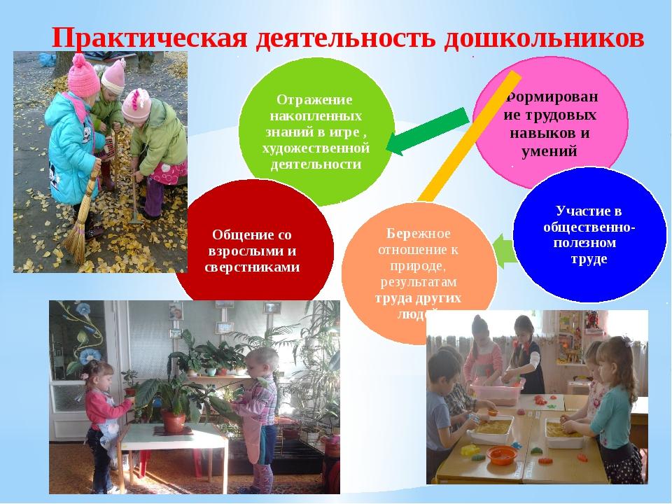 Практическая деятельность дошкольников