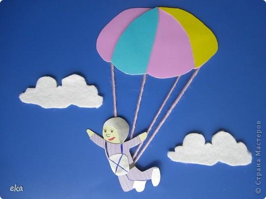Как сделать поделку парашют