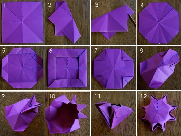 Как сделать чтонибуть из бумаги без клея