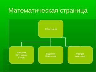 Математическая страница