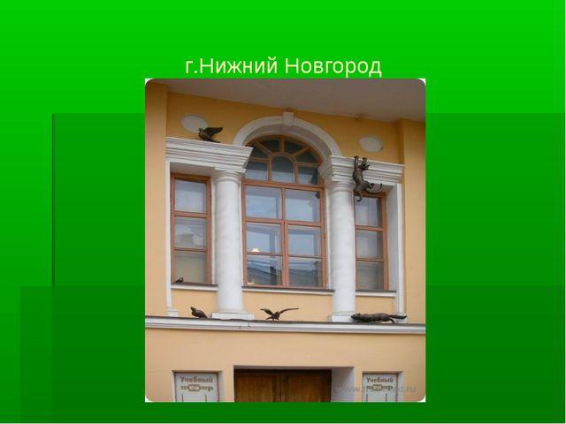 г.Нижний Новгород