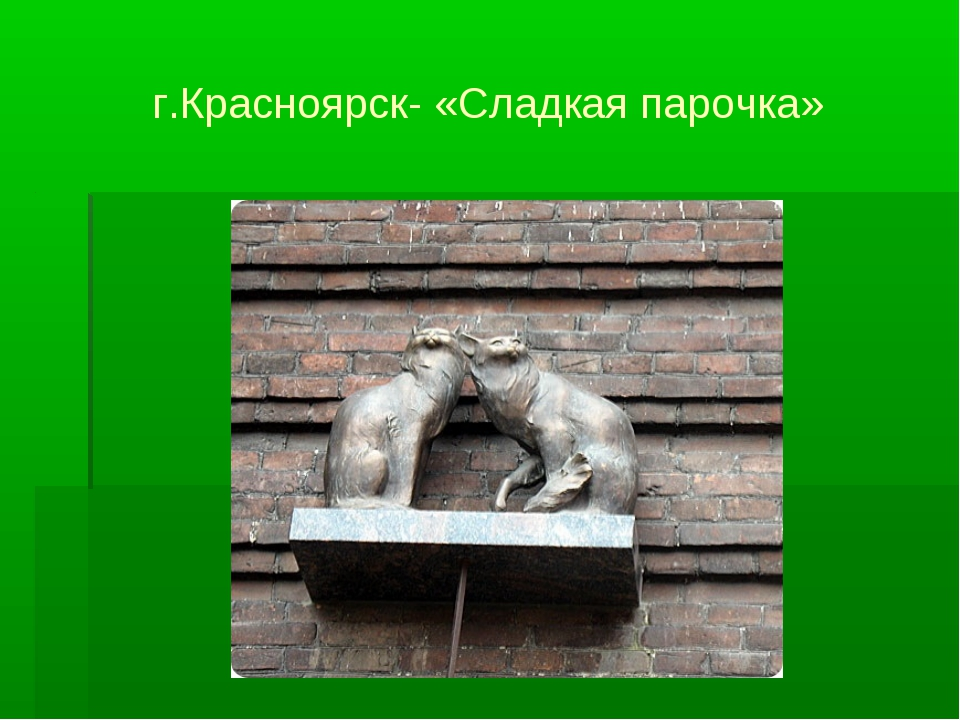г.Красноярск- «Сладкая парочка»