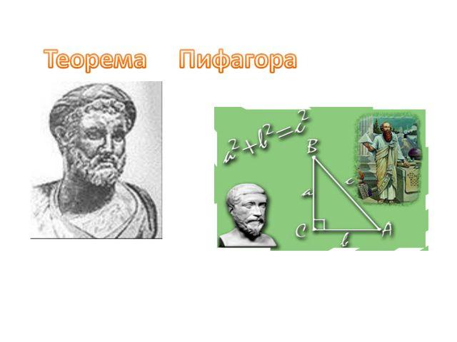 Теорема Теорема Пифагора
