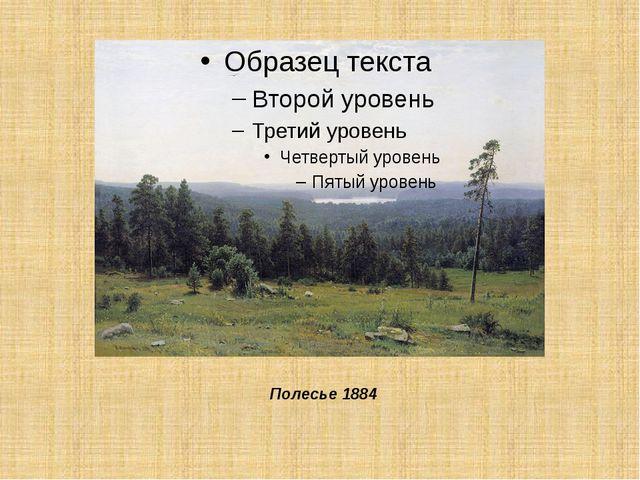 Полесье 1884