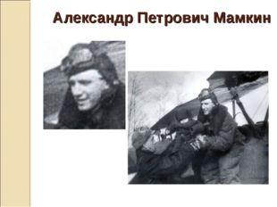Александр Петрович Мамкин