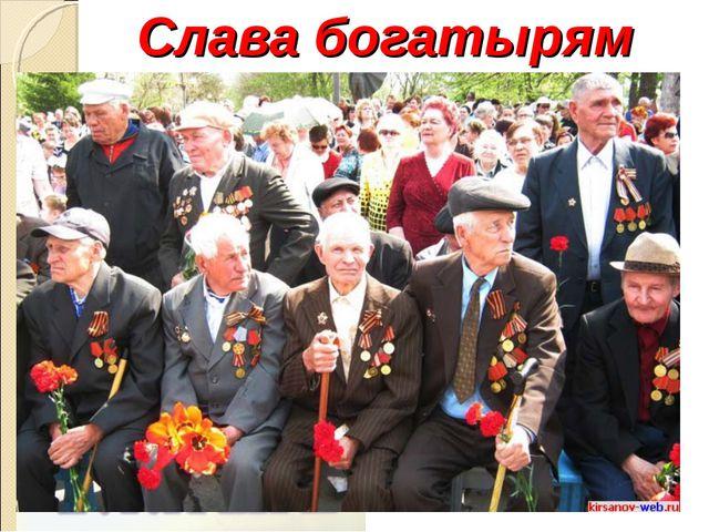 Слава богатырям Земли Русской!