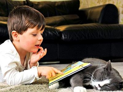 Дети-аутисты в большинстве очень любят общение с животными