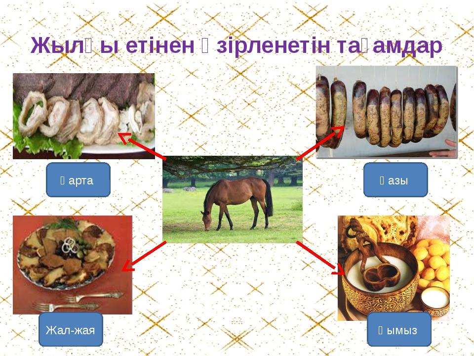 Для любителей казы-карта, жал-жая и других деликатесов из конины
