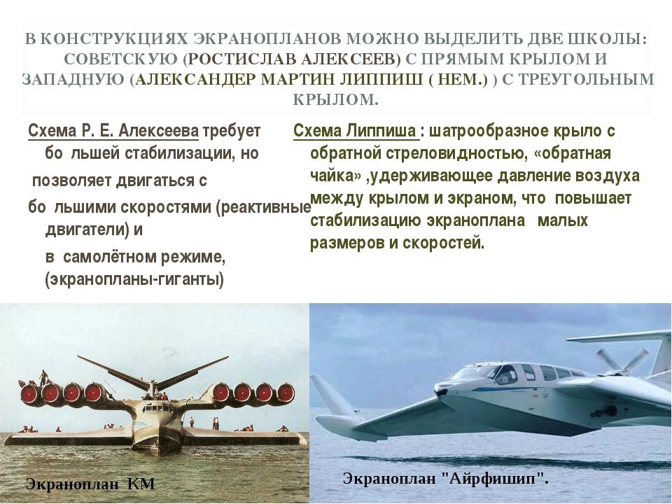 Схема Р. Е. Алексеева требует бо́льшей стабилизации, но Схема Р. Е. Алексеев...