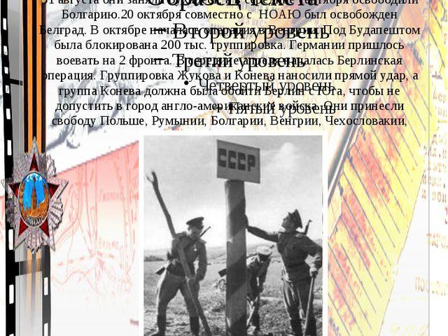 Освобождение Европы от фашизма. © Топилина С.Н.
