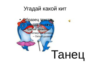 Угадай какой кит Танец