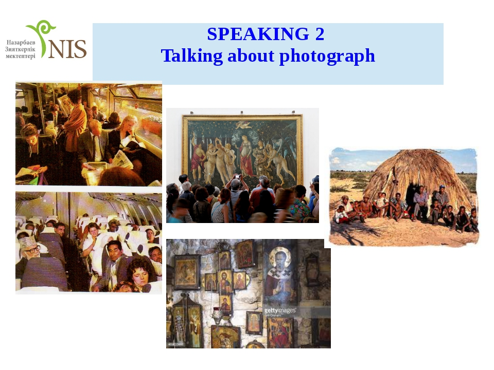 SPEAKING2 Talking about photograph