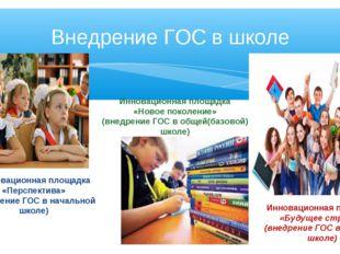 Инновационная площадка «Перспектива» (внедрение ГОС в начальной школе) Иннов
