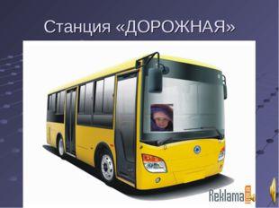 Станция «ДОРОЖНАЯ»