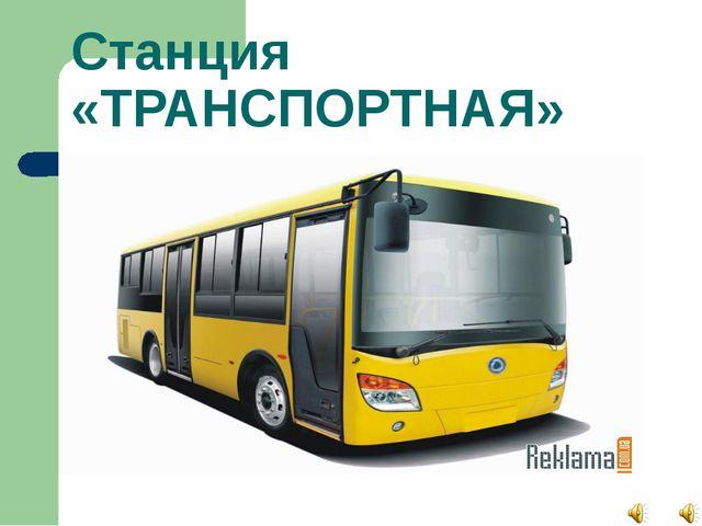 Станция «ТРАНСПОРТНАЯ»