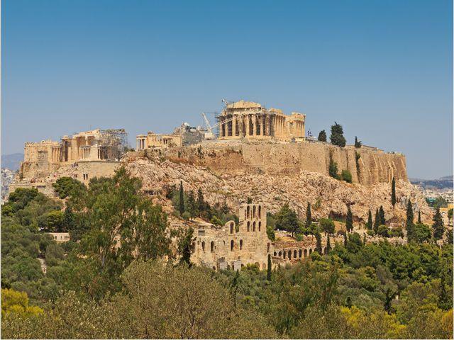 Афинский Акрополь (V в. до н.э.). 