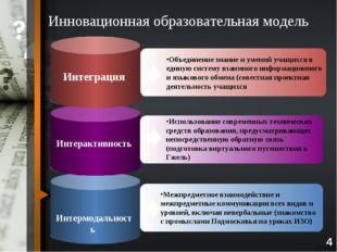 4 Инновационная образовательная модель