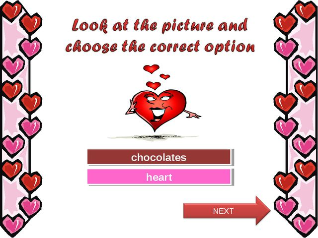 Try Again Great Job! chocolates heart
