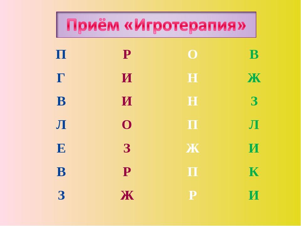 ПРОВ ГИНЖ ВИНЗ ЛОПЛ ЕЗЖИ ВРПК ЗЖРИ