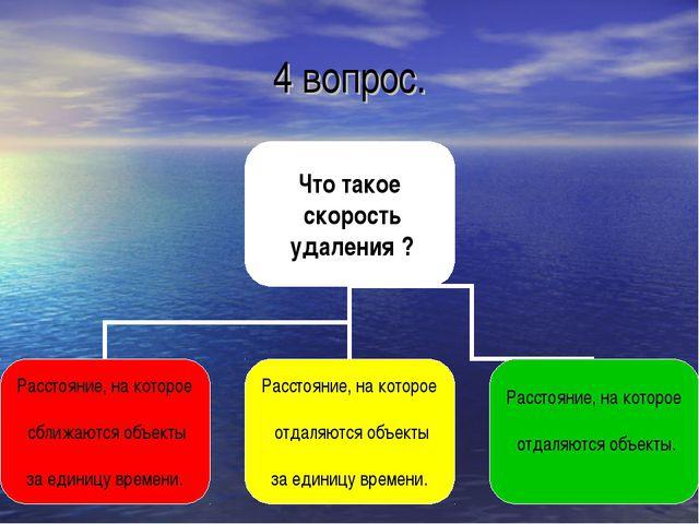4 вопрос.