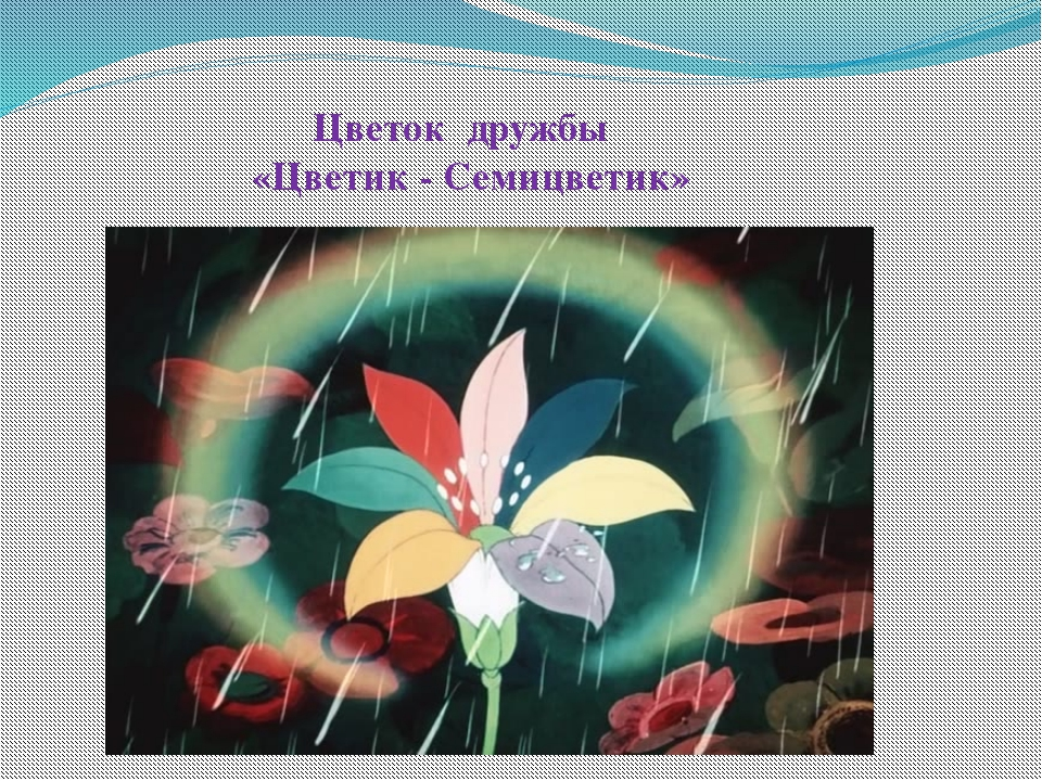 Цветок дружбы «Цветик - Семицветик»