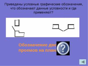 Приведены условные графические обозначения, что обозначают данные условности