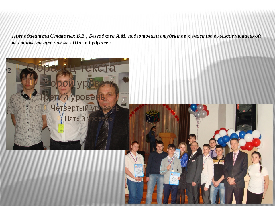 Преподаватели Становых В.В., Безгодкова А.М. подготовили студентов к участию...