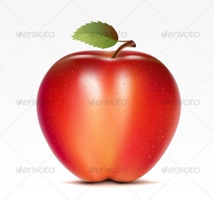 Food Apple Vectors