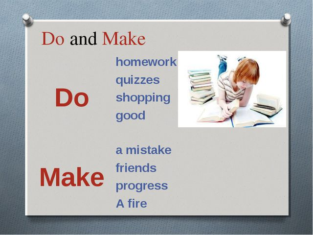 Do and Make Dohomework quizzes shopping good  Makea mistake friends pro...