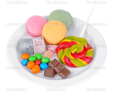 http://st.depositphotos.com/1177973/4177/i/950/depositphotos_41772341-Different-sweets-on-plate-isolated-on-white.jpg