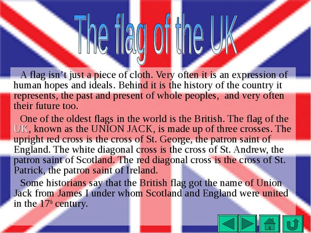 A flag isn't just a piece of cloth. Very often it is an expression of human h...