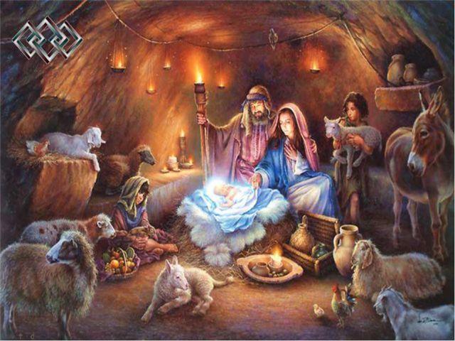 Празднование Рождества на Руси Рождение Иисуса привнесло в жизнь людей чудо,...