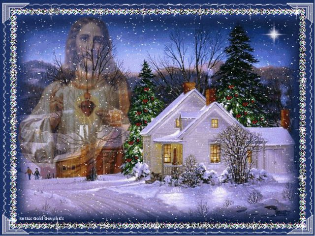 Празднование Рождества В 12 ночи на Рождество, имеется обычай выходить на ул...