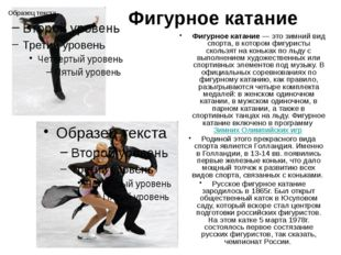 Шорт-трек Шорт-трек - вид скоростного бега на коньках, заключающийся в максим