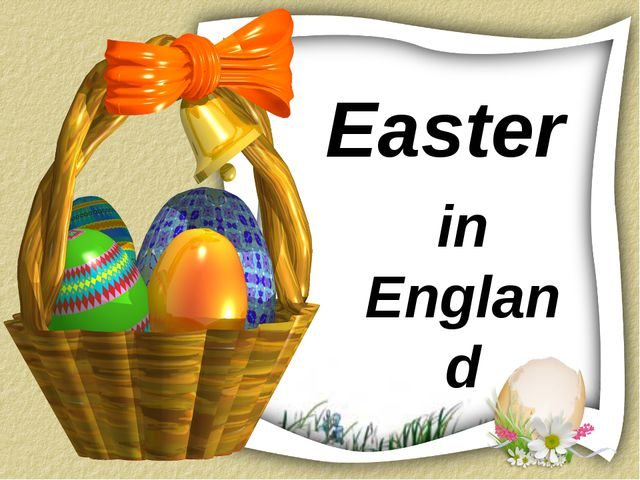 Easter in England