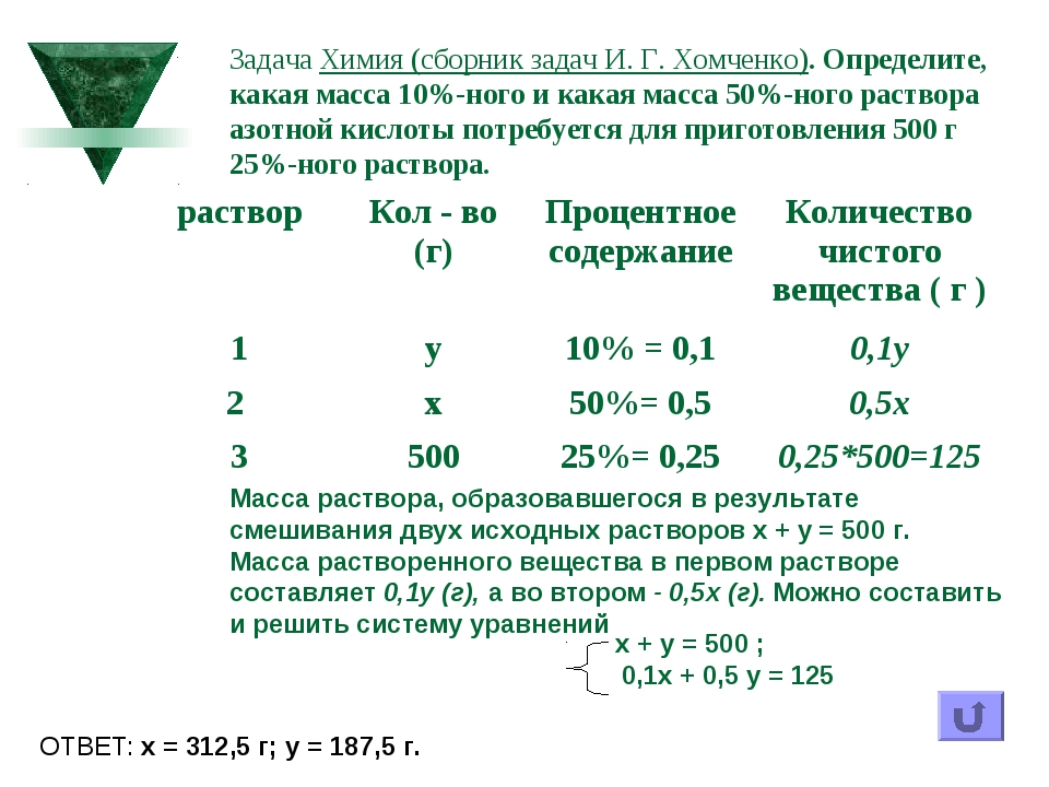 Задача Химия (сборник задач И. Г. Хомченко). Определите, какая масса 10%-ного...