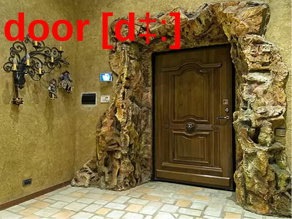 door [dɔ:]