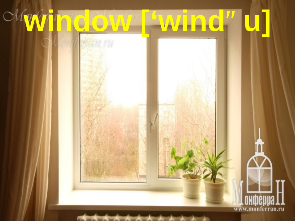 window ['windəu]