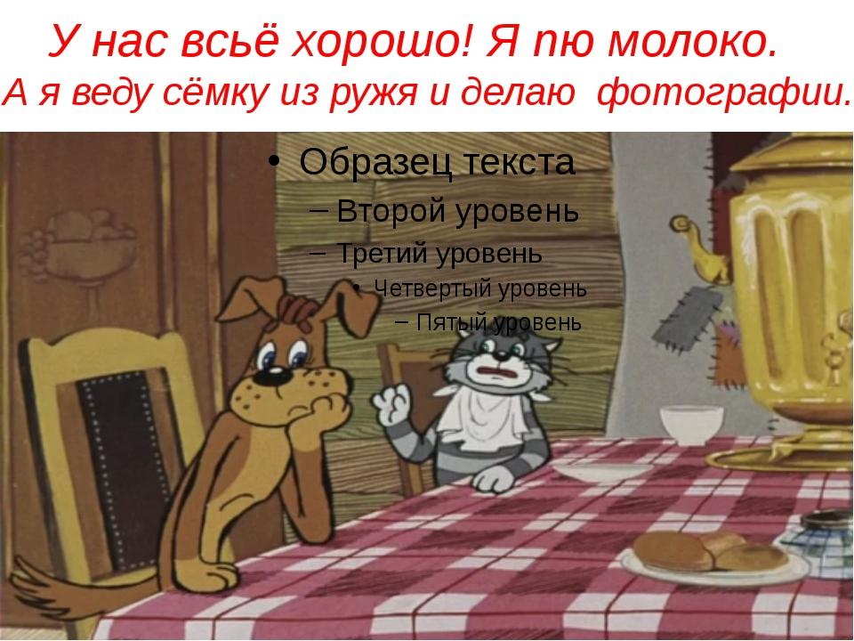 А я веду сёмку из ружя и делаю фотографии. © InfoUrok.ru У нас всьё хорошо!...