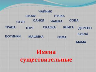 ЧАЙНИК СТУЛ РУЧКА ШКАФ ТРАВА СОВА ДЕРЕВО БОТИНКИ ТОРТ САНКИ ЧАШКА КНИГА КУКЛА