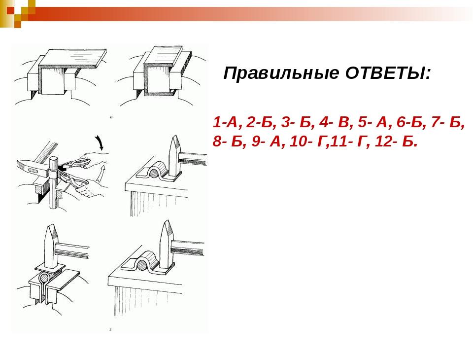 Правильные ОТВЕТЫ: 1-А, 2-Б, 3- Б, 4- В, 5- А, 6-Б, 7- Б, 8- Б, 9- А, 10- Г,...