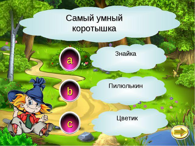 Самый умный коротышка a c b Знайка Пилюлькин Цветик